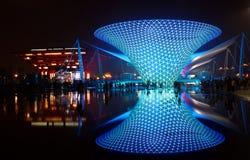 Shanghai World Expo Boulevard Sunny Valley royalty free stock image