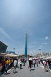 The 2010 Shanghai World Expo Europe Square Royalty Free Stock Photography
