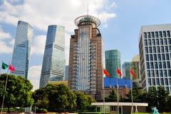 Shanghai World Financial Center. The Shanghai World Financial Center Stock Photo