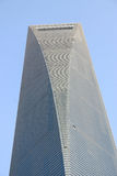 Shanghai World Financial Center. The Shanghai World Financial Center in China Stock Photography