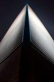 Shanghai World Financial Center. China 2014 Shanghai World Financial Center at Night Royalty Free Stock Image