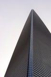 Shanghai World Financial Center. Close up shot of Shanghai World Financial Center Royalty Free Stock Photography