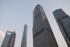 Shanghai world financial center Stock Photos