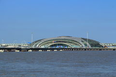 ShangHai WuSongKou International Cruise Terminal Royalty Free Stock Photo