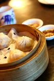 Shanghai Xiao Long Bao. Chinese dumplings ready for serving stock image
