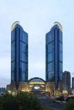 Shanghai Xujiahui höghus Royaltyfria Foton