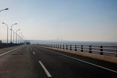 Shanghai Yangshan Port Economic FTA Donghai Bridge stock photo
