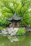 Shanghai yuyuan garden traditional Building scenery Royalty Free Stock Images