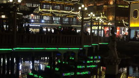 Shanghai -  Yuyuan Tourist Mart stock footage