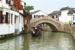 Shanghai Zhujiajiao Town at autumn Royalty Free Stock Photography