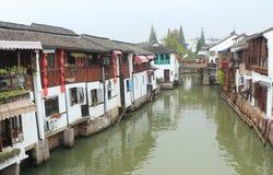 Shanghai Zhujiajiao Town at autumn Royalty Free Stock Photo