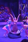 Shanghai-Zirkusshow-Magiespiel stockfotografie