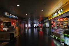 Shanghais mini- supermarket Royaltyfri Fotografi