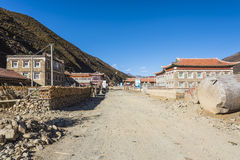 Shangmuju village Royalty Free Stock Image
