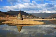 shangri αντανάκλασης Λα στοκ φωτογραφίες με δικαίωμα ελεύθερης χρήσης