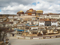 shangri Λα της Κίνας Στοκ Εικόνες