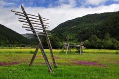shangri de paysage de ranch de La image libre de droits