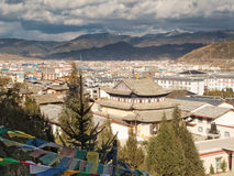 Shangri-La. Tibetan city in the province yunnan of china Stock Image