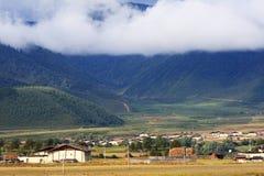 Shangri-La. Beautiful scenery of shangri-La,yunan ,china Royalty Free Stock Photo