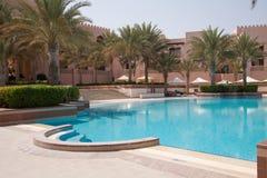 Shangri-La Al Husn Swimming Pool Stock Photo
