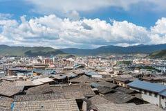 Shangri-La della città antica Fotografie Stock Libere da Diritti