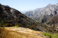 Shangri-La eller Arcadia i Qinling berg Royaltyfri Foto