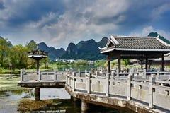 Shangri-La Guilin Yangshuo Guangxi China Stockfoto
