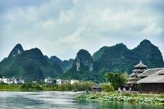 Shangri La Guilin Yangshuo Guangxi  China Stock Photos
