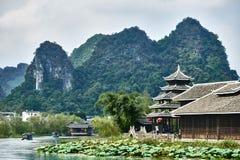 Shangri La Guilin Yangshuo Guangxi  China Stock Photography