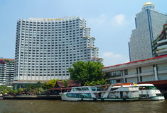 Shangri La Hotel Bangkok Royalty Free Stock Photo