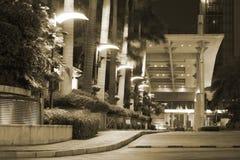 Shangri-La Hotel entrance Stock Photo
