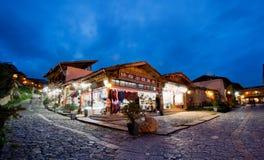 Shangri-La Kina Royaltyfri Bild