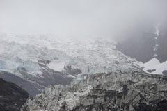 Shangri La - Mingyong Glacier stock images