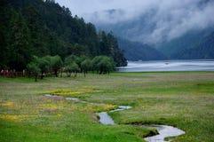 Shangri-La, Nationaal Park Pudacuo Stock Foto