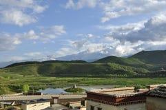 Shangri-La nel Yunnan Fotografie Stock
