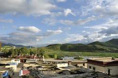 Shangri-La nel Yunnan, Cina Fotografia Stock