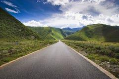 Shangri-La road Royalty Free Stock Images