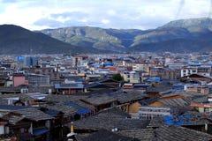 Shangri-La stad Arkivbild