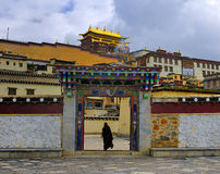 Shangri-La - tempel Songzanlin Royalty-vrije Stock Foto