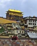 Shangri-La - templo de Songzanlin Foto de Stock Royalty Free