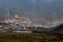 Shangri-La in Yunnan scenery Royalty Free Stock Photos