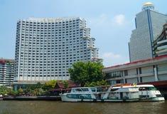 Shangri Lahotell Bangkok Royaltyfri Foto