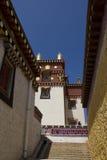Shangrila的Ganden Sumtseling修道院,中国 库存图片