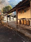 Shangrila, Китай Стоковые Изображения RF