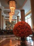 Shangrila Hotel, Singapore. Lobby at Shangrila Hotel, Singapore Royalty Free Stock Photo