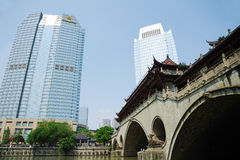 Shangrila hotels and resorts  in Chengdu Stock Photo