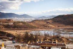 Shangrila, il Yunnan, Cina Fotografia Stock