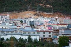 Shangrila, il Yunnan, la Cina ed il posto vicino Immagine Stock Libera da Diritti