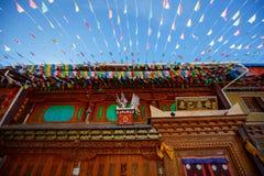 Shangrila, il Yunnan, la Cina ed il posto vicino Fotografia Stock Libera da Diritti