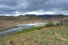 shangrila yunnan ландшафта фарфора Стоковые Фотографии RF
